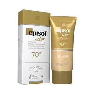 Protetor-Solar-Episol-Colors-Base-FPS-70-Pele-Morena-40g