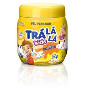 Gel Fixador Trá Lá Lá Kids Brilho Molhado sem álcool 250g