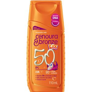 Bloqueador-Cenoura-Bronze-Kids-Fps-50-110ml