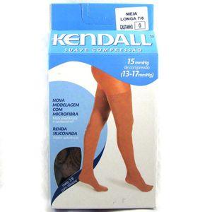 Meia-Kendall-7-8-2612-Suave-Compressao-Com-Silicone-Castanho-G