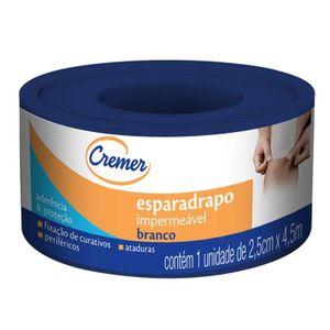 Esparadrapo-Cremer-Branco-Impermeavel-2-5cm-x-4-5m