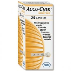 Lancetas Accu - Chek Softclix Active 25 unidades