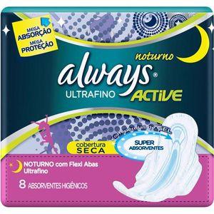 Absorvente-com-Abas-Always-c-8-Ultrafino-Noturno