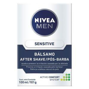locao-apos-barba-nivea-balsamo-sensitive-100ml