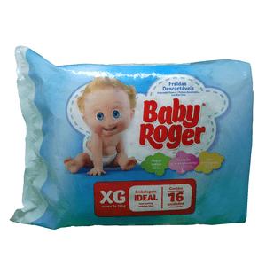 Fralda-Descartavel-Baby-Roger-XG-com-16-Unidades