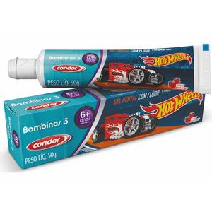 gel-dental-condor-bambinos-3-hot-wheels-morango-50g
