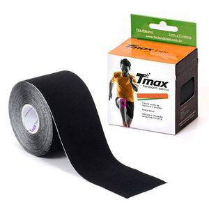 fita-de-kinesio-bandagem-adesiva-tmax-preta-5cmx5m