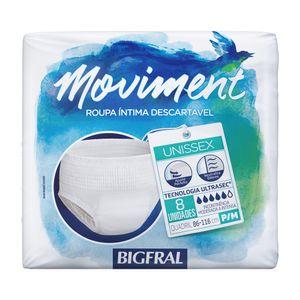 Roupa-Intima-Descartavel-Bigfral-Moviment-P-M-8-Unidades
