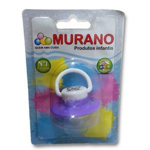 Chupeta-Murano-Silicone-Redondo-Lilas-0---6-Meses-Tamanho-1