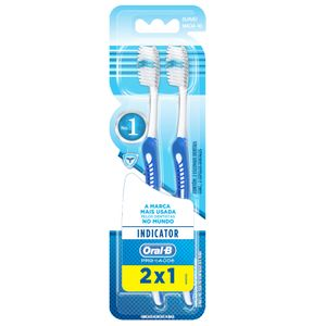 Kit-Escova-Dental-Oral-B-Indicator-Plus-40-2-Unidades-Cores-Sortidas