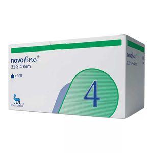 Agulha-Descartavel-Novofine-32G-4mm-para-Caneta-de-Insulina-100-Unidades