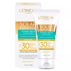protetor-solar-facial-l-oreal-solar-expertise-toque-seco-antiacne-fps-30-locao-50g
