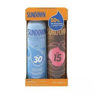 kit-protetor-solar-sundown-pele-molhada-fps-30-spray-200ml-50-desconto-protetor-solar-sundown-gold-fps-15-spray-200ml