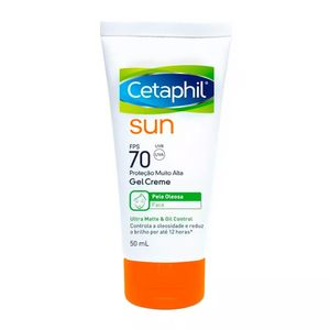 Protetor-Solar-Cetaphil-Sun-Ultra-Matte-e-Oil-Control-FPS-70-Gel-Creme-50ml