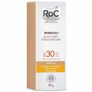 Roc-Minesol-Actif-Unify-Tinted-Mousse-Protetor-Solar-FPS-30-Medium-40g