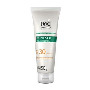 Protetor-Solar-Roc-Minesol-Oil-Control-FPS-30-Gel-creme-50g