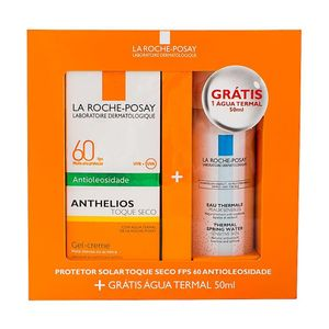Kit-La-Roche-Posay-Anthelios-Toque-Seco-FPS-60---Agua-Thermal-50g---50ml