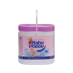 Lenco-Umedecido-Poppy-Sem-Sabao-Roxo-450-unidades