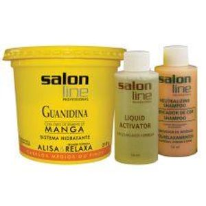 Salon-Line-Kit-Relax-Guanidina-Manga-Regular-218g