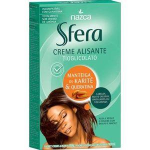 Creme-Alisante-Sfera-Manteiga-de-Karite-e-Queratina-90ml