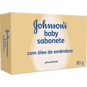 Sabonete-em-Barra-Johnsons-Baby-Amendoa-80g