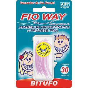 Passador-de-Fio-Dental-Bitufo-Fio-Way-30-unidades