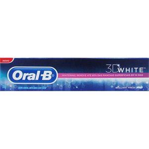 Creme-Dental-Branqueador-Oral-B-3D-White-Brilhant-Fresh-70g