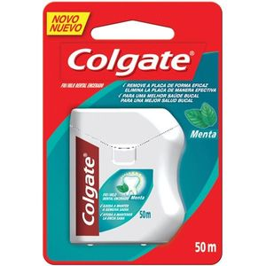 Fio-Dental-Regular-Colgate-Menta-50m