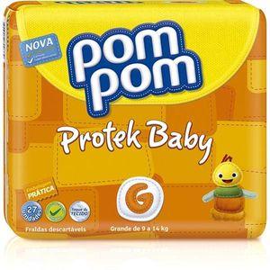 Fralda-PomPom-Protek-Baby-G-26-unidades