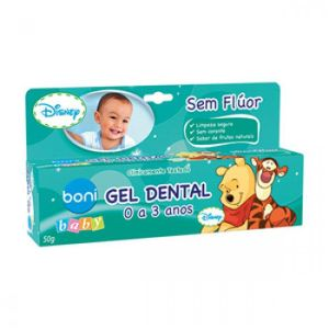 Gel-Dental-Boni-Baby-Sem-Fluor-50g