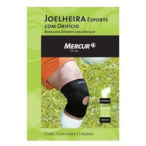 Joelheira-Mercur-Esporte-com-Orificio-Tamanho-M
