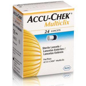 Lancetas-Estereis-Accu-chek-Multiclix-c-24