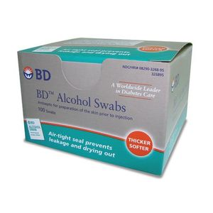 Alcool-BD-Swabs-100-saches