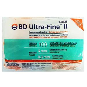 Seringa-para-Insulina-BD-Ultra-Fine-II-Agulha-Curta-Seringa-de-1-mL-c-Agulha-de-8mm-x-0-3mm
