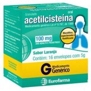 Acetilcisteina-100mg-16-envelopes-de-5g