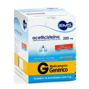 Acetilcisteina-200mg-16-envelopes-de-5g