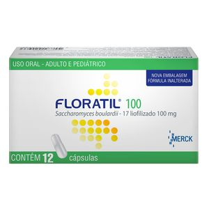 Floratil-100mg-12-capsulas