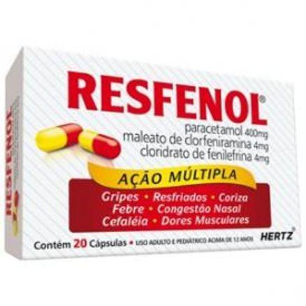 Resfenol-20-capsulas