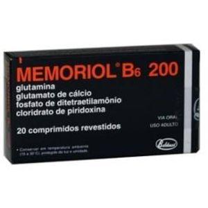 Memoriol-B6-200-20-comprimidos
