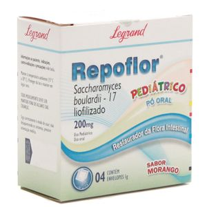 Repoflor-Pediatrico-200mg-4-Envelopes-de-1g