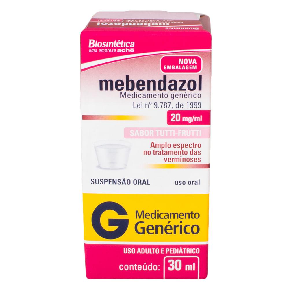 contraindicações do mebendazol