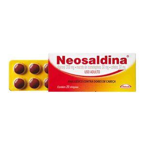 Neosaldina-20-comprimidos