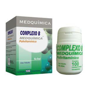 Polivitaminico-Complexo-B-100-comprimidos
