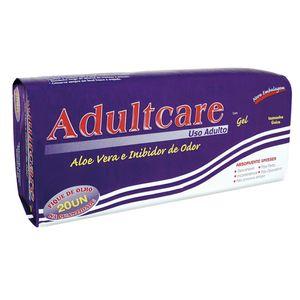 Absorvente-Geriatrico-Adultcare-com-Gel-Tamanho-Unico-20-unidades
