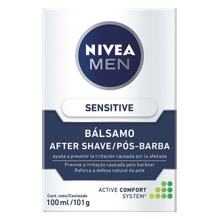 locao-apos-barba-nivea-balsamo-sensitive-100ml