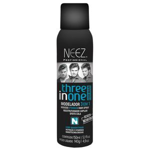 Modelador-Neez-3-em-1-Mousse---Pomada---Hair-Spray-150ml