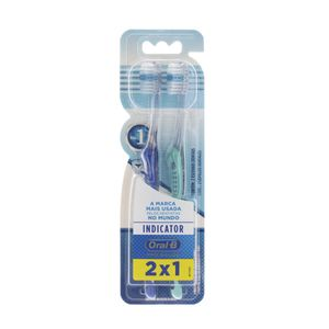 kit-escova-dental-oral-b-indicator-plus-35-macia-2-unidades