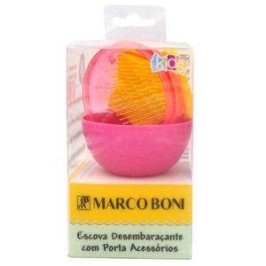 escova-de-cabelo-infantil-desembaracante-marco-boni-com-porta-acessorios-rosa