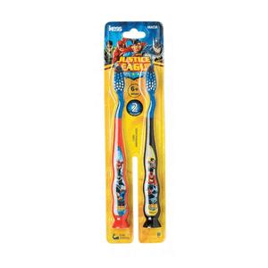 kit-escova-dental-kess-liga-da-justica-macia-2-unidades