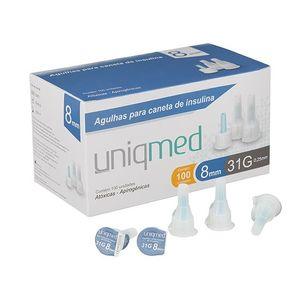 agulha-para-caneta-de-insulina-uniqmed-31g-8mm-com-100-unidades